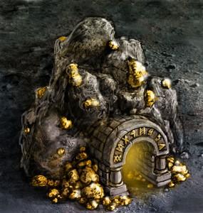Золотая шахта в Clan Wars