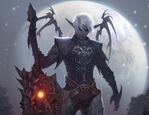 Темный Эльф Lineage 2 выбирает профессию