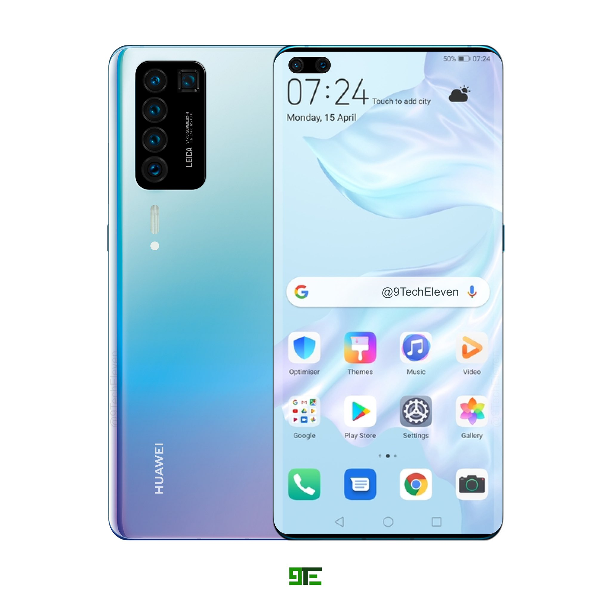 Huawei P40 и Huawei P40 Pro - сравнение смартфонов