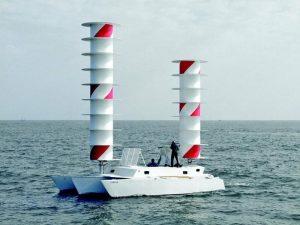 Ротор вместо паруса: механические системы заменят парус, и сделают перевозки дешевле